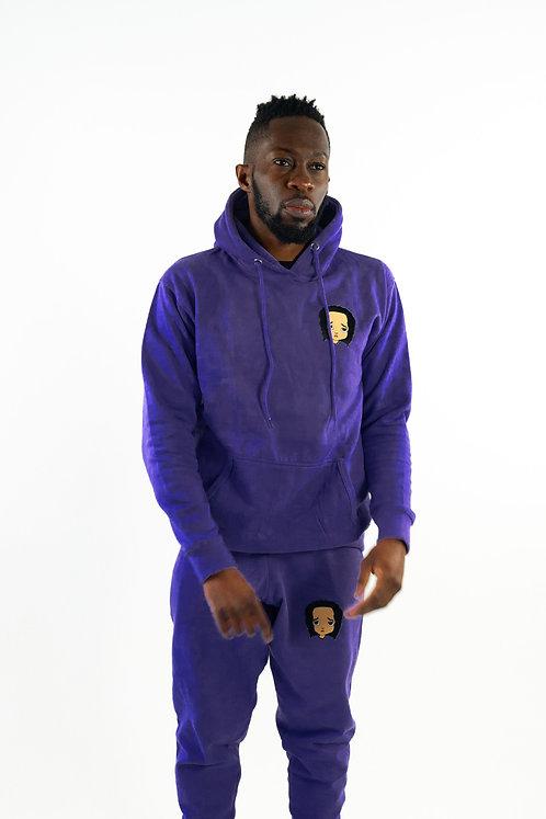 Purple Sweatsuit