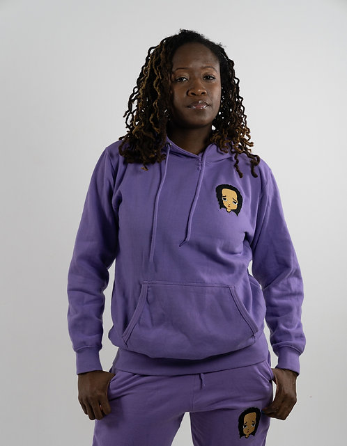Lavender Sweatsuit
