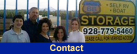Contact - Flagstaff's First & Only Indoor & Covered RV & Boat Storage Facility