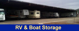 Flagstaff's First & Only Indoor & Covered RV & Boat Storage Facility