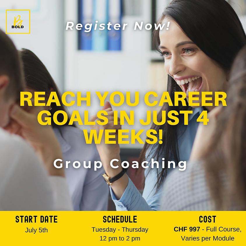 Career Group Coaching