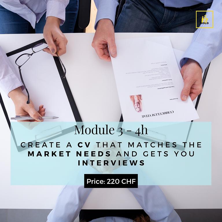 Build A Professional CV