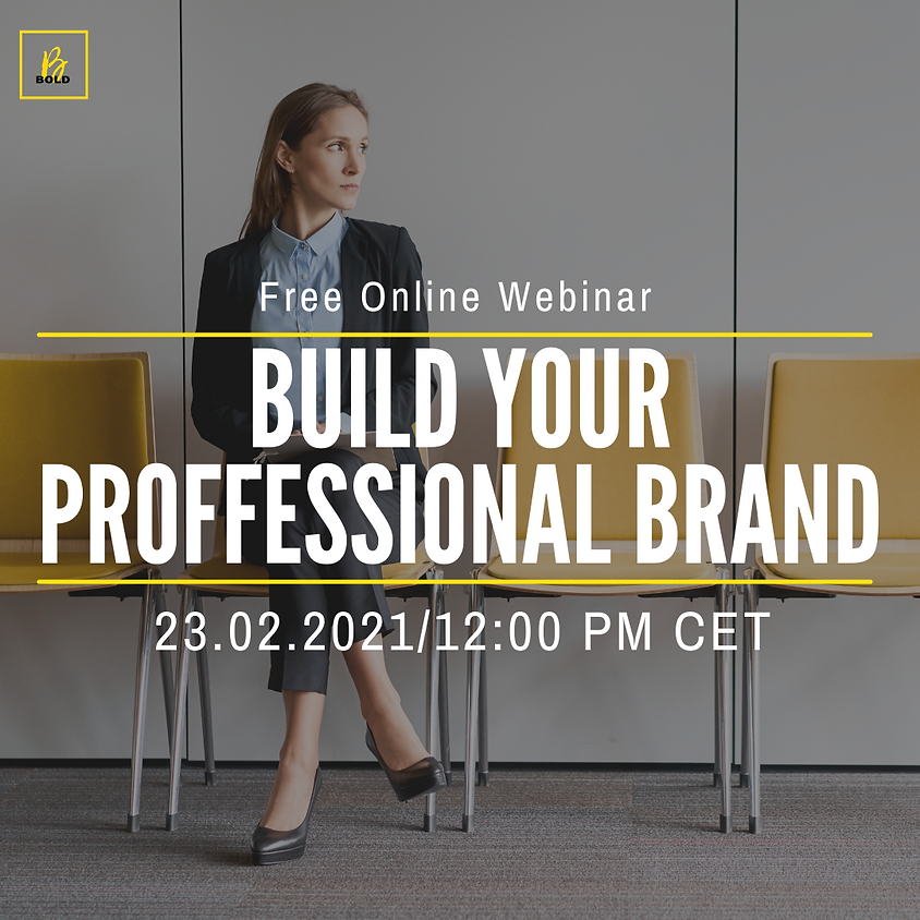 Build your professional brand