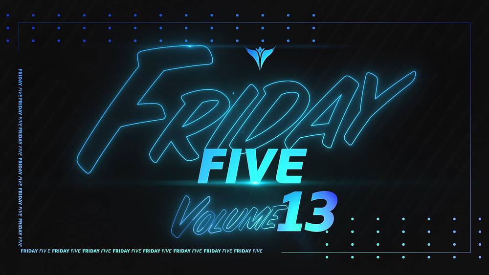 King Penguin Friday Five Vol 13