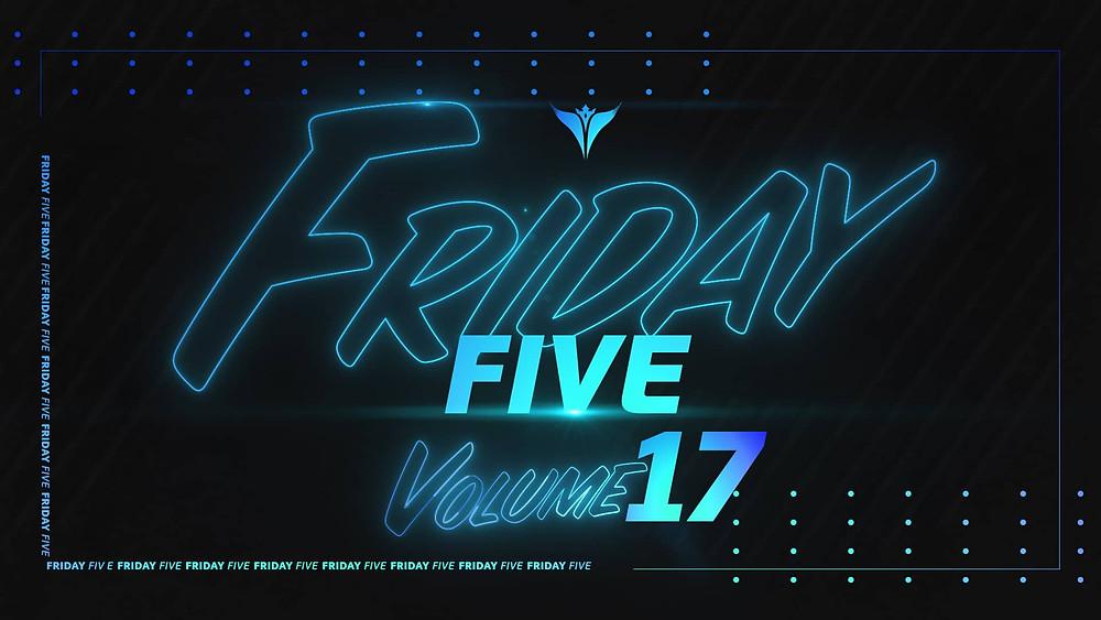 King Penguin Friday Five Volume 17