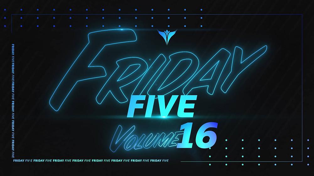 King Penguin Friday Five Volume 16