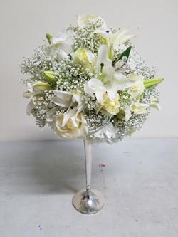 White Memorial Arrangement