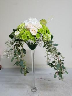 Green Margarita Arrangment