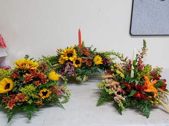 Assorted Fall Centerpieces