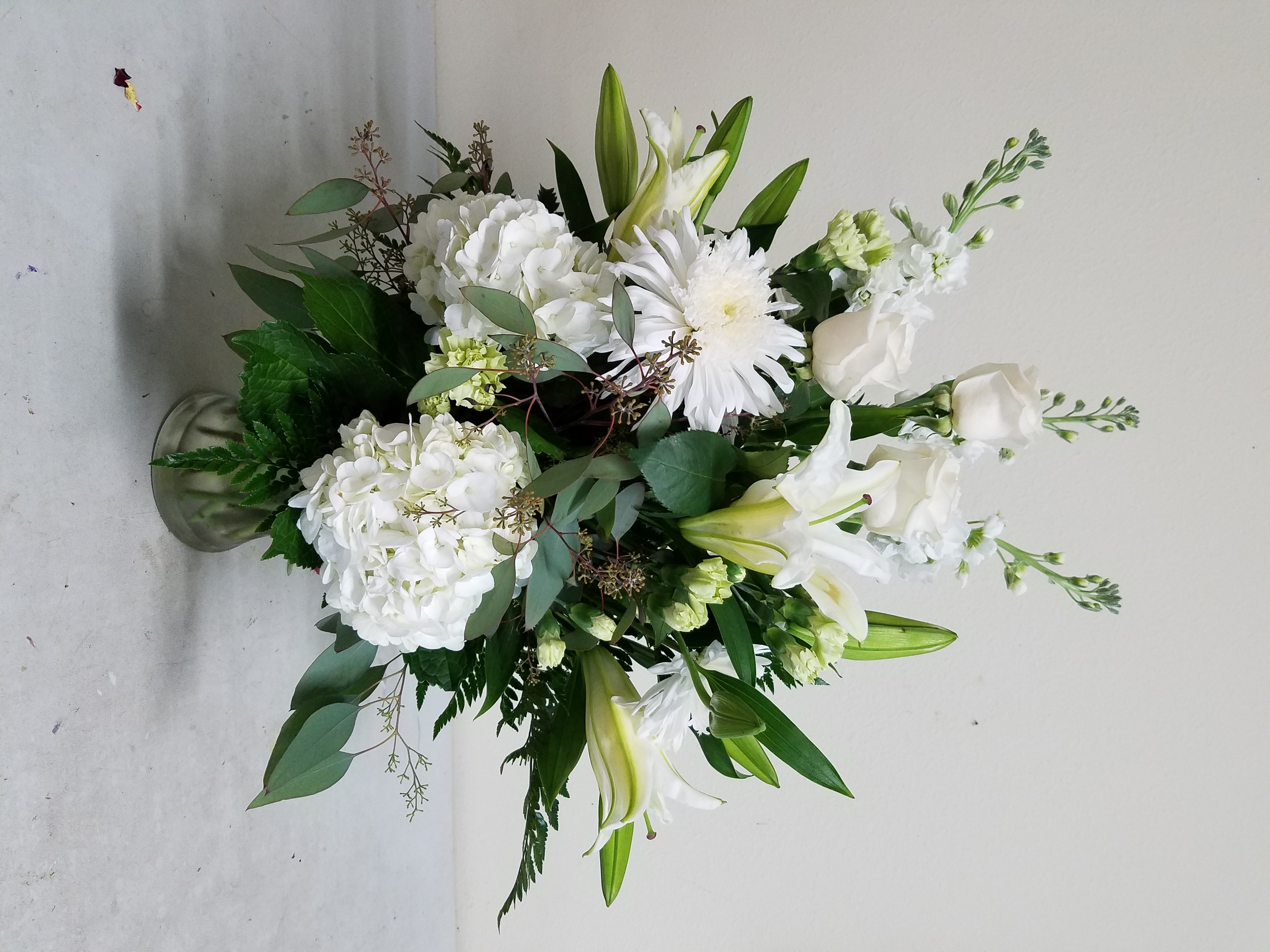 Elegant White Arrangement No. 2
