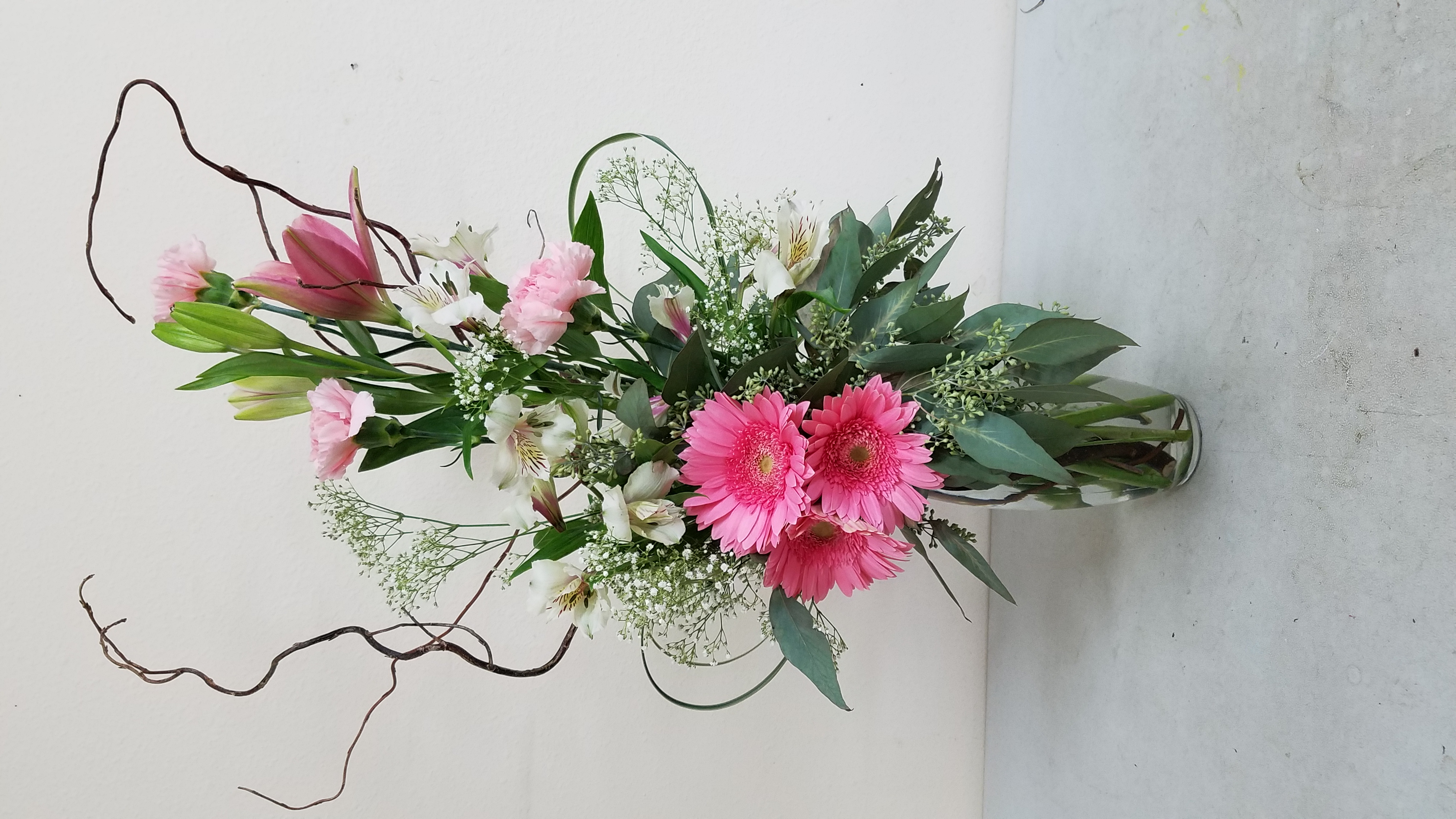 Tall Pink Arrangement