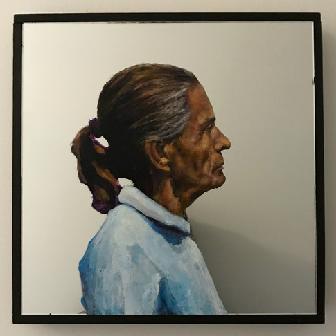 Self-Portrait As A Bluebird Self-Portrait As A Blackbird