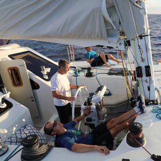 Sailing Under Spinnaker 2017
