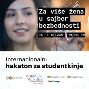 Održan prvi International Female Students Hackathon u oblasti sajber bezbednosti