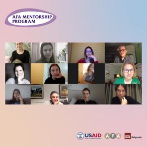 Treća generacija preduzetnica upravo završila AFA Mentorski program!