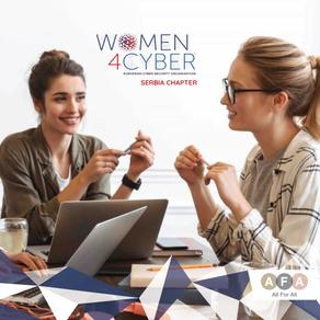 AFA obeležila 8. mart online događajem na kome su otvoreni Women4Cyber chapter Srbija i Luksemburg