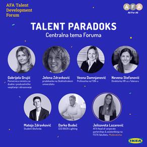 Vodeći poslodavci i najbolji studenti će govoriti  na Forumu posvećenom talentima