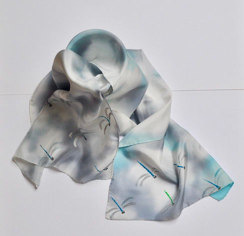 écharpe libellules (Dragonflies scarf)