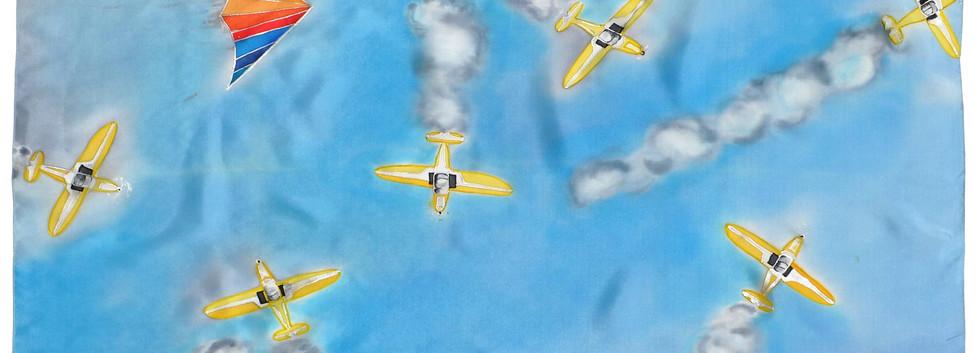 Vol de coucous jaunes