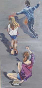 Les skateboarders