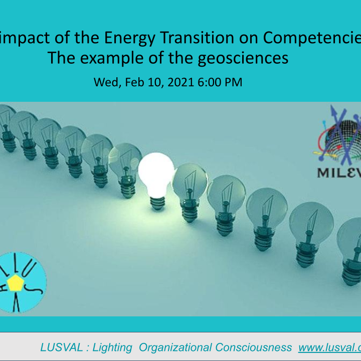 Energy Transition , Strategies and Competencies