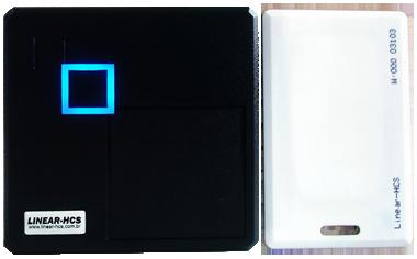 Leitor RFID L-102A (em 125KHZ) - Preto