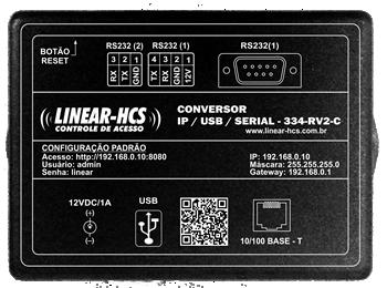 Conversor IP/USB/SERIAL