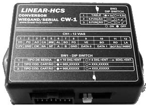 Conversor Wiegand para RS485