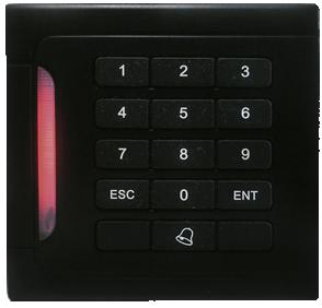 Leitor RFID L-302A (em 125KHZ) - Preto