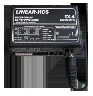 Receptor Linear-HCS TX-4