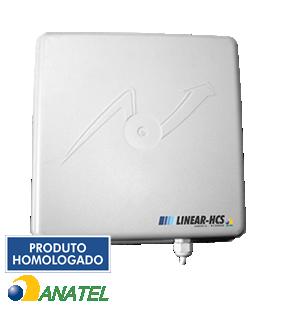 Leitor/Antena UHF Integrada LN6012 915MHZ