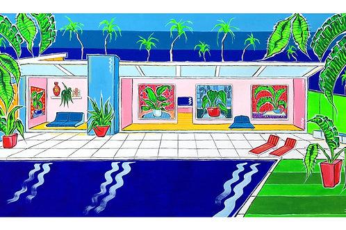 '99 On The Coast Road' original canvas