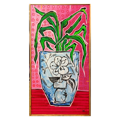 'Pablo's Pot', original on canvas