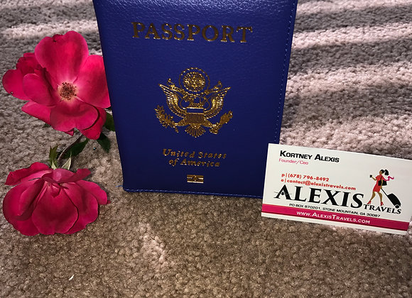 Alexis Travels Blue