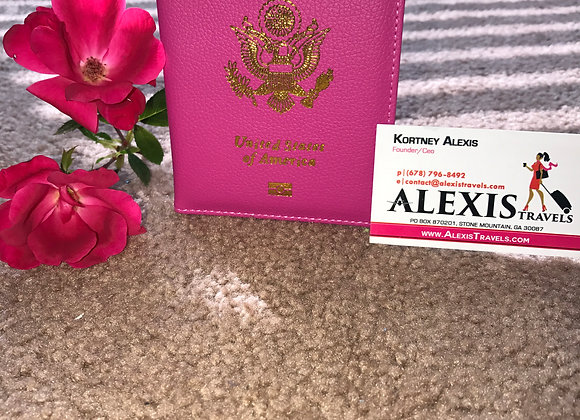Alexis Travels Hot Pink