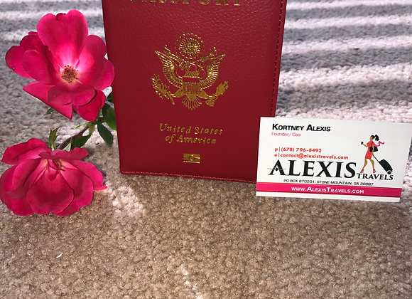 Alexis Travels Warm Red