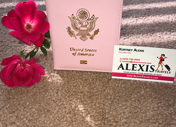 Alexis Travels Light Pink