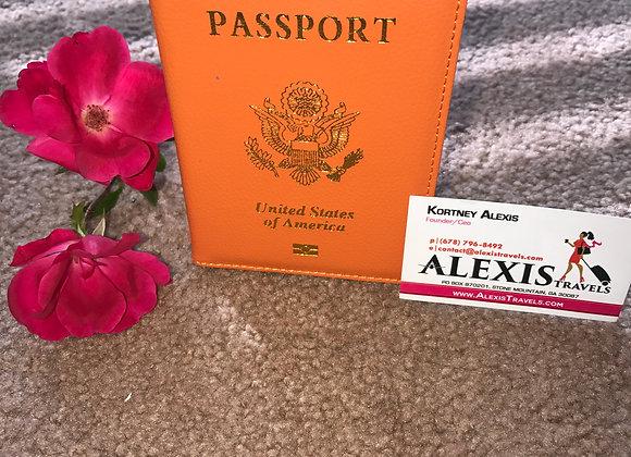 Alexis Travels Orange