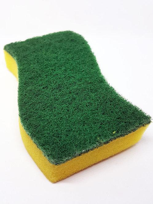 Curvey Kitchen Sponges