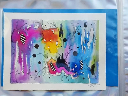 Watercolor Gift Card No. 2