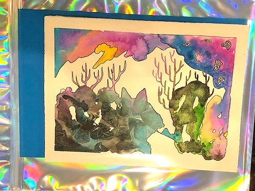 Watercolor Gift Card No.5
