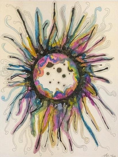 Abstract Watercolor Series No. 2