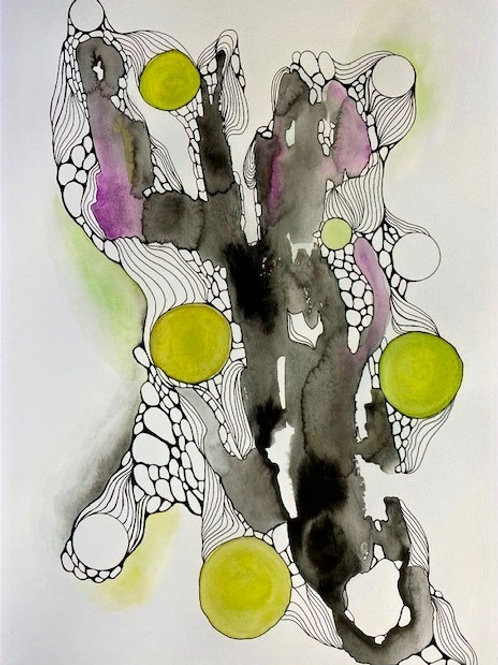 Abstract Cellular Series No. 1