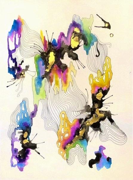 Abstract Watercolor No.15