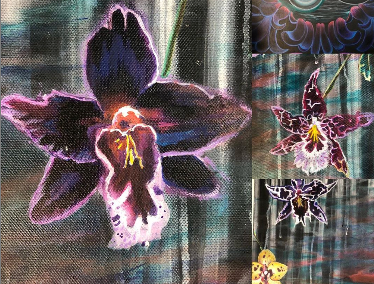Orchid & Botanical Drawing and Painting