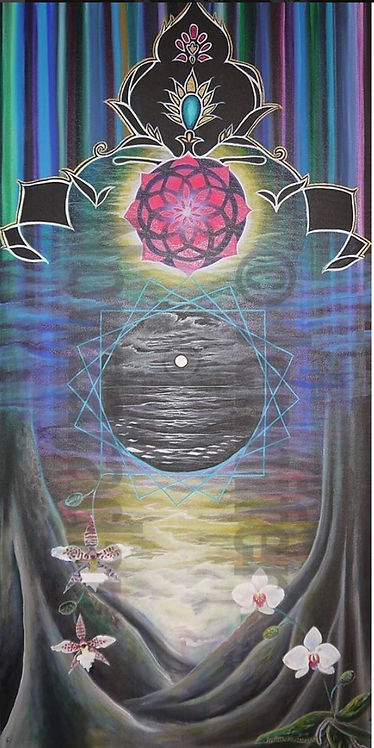 Water Totem Series No 2