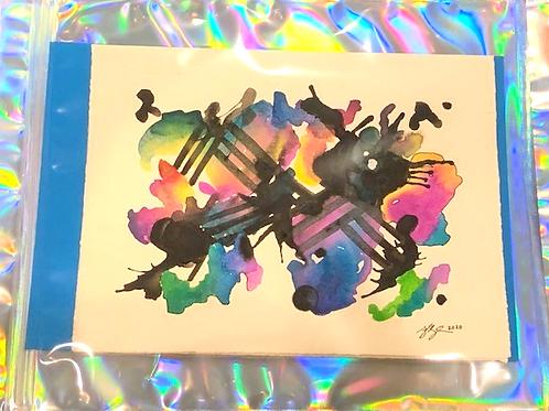 Watercolor Gift Card No.1
