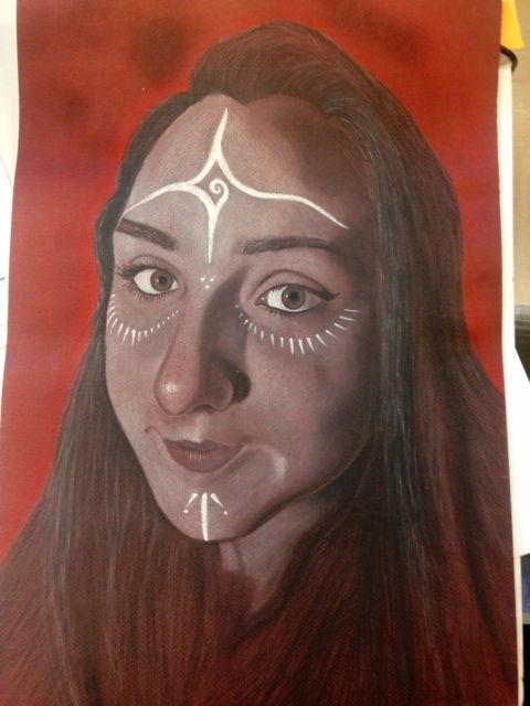 Portrait Drawing ages 11-18+