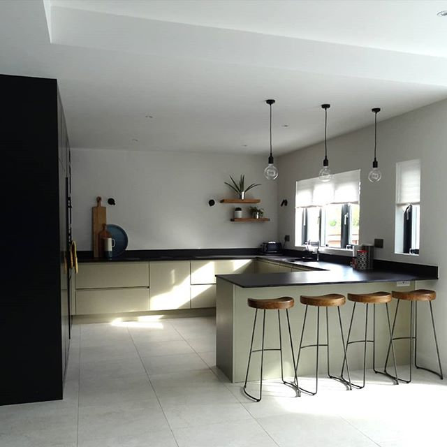 The kitchen area is simple and very func