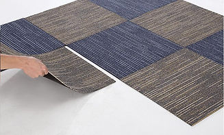 Easy to install carpet tiles, DIY flooring